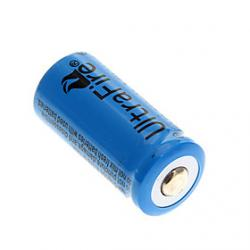 Cheap UltraFire 3.6V 880mAh Rechargeable Li-ion 16340 Battery(1-PCS)