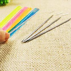Cheap 2CM Long Stainless Acne and Pimples Pin(Random Color)