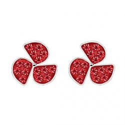 Low Price on Sweet lady Clover earrings small earrings (random color)