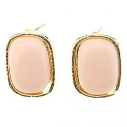 Low Price on OLL Simple Edge Rectangle Earrings