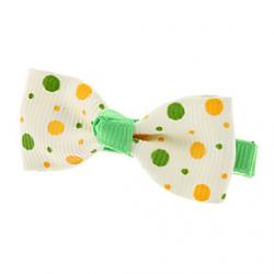Cheap Speckle Pattern Mini Bow Tie Hair Clip for Pets