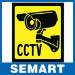 Cheap 2014 brazil Home CCTV Surveillance Security Camera Sticker Warning Decal Signs