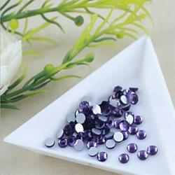 Cheap 1.92.1mm Boutique(Purple)Flat Back Rhinestones(Phone Beauty)Nail bedazzle 100 pieces